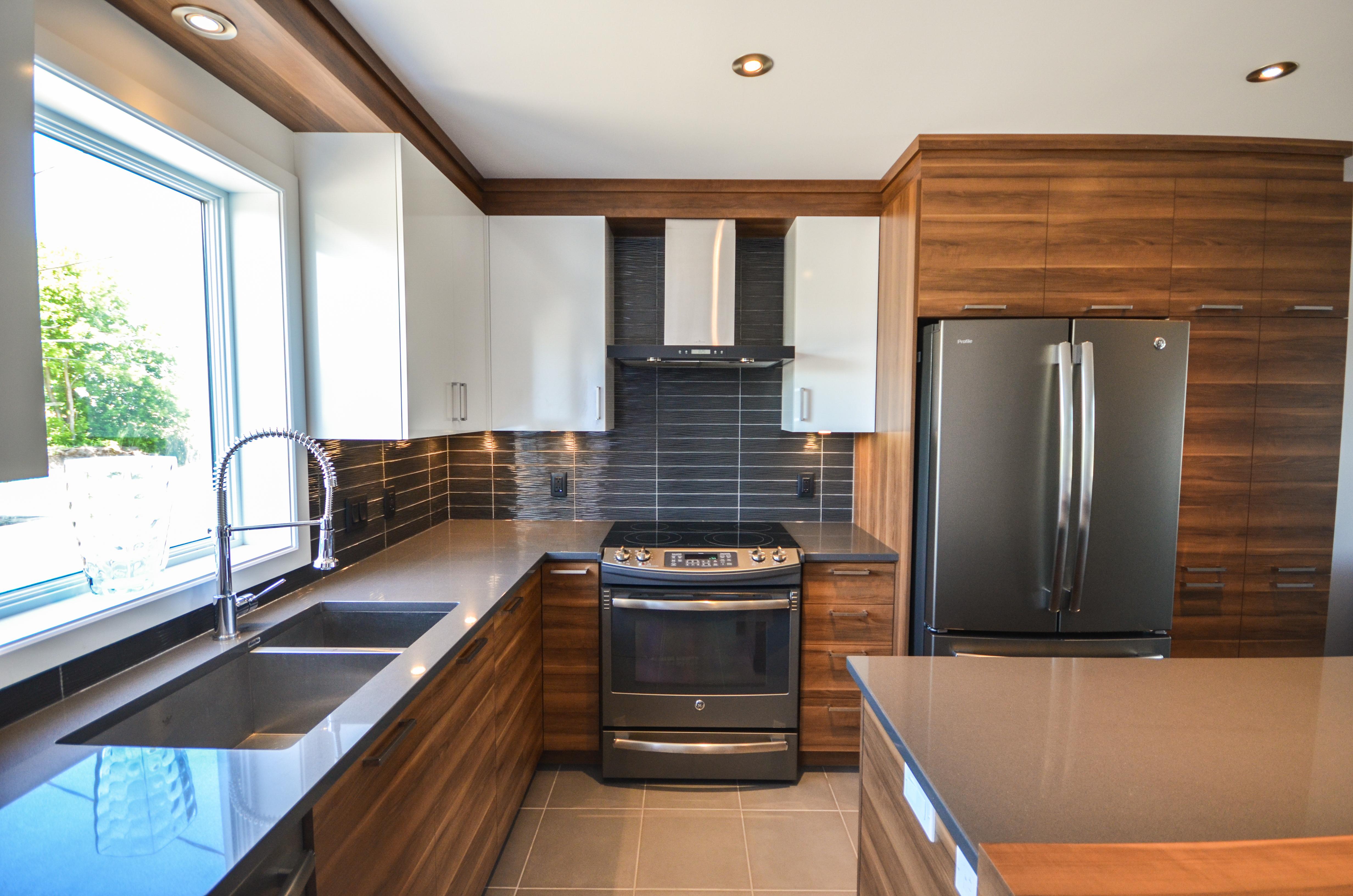 Armoires de cuisine en m lamine 24 armoires de cuisine for Armoires de cuisine et plus inc